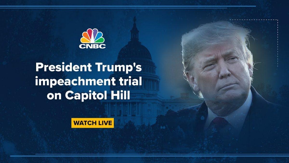 IMPEACHMENT TRIAL LIVE: White House legal team mounts Trump defense in Senate – 1/27/2020