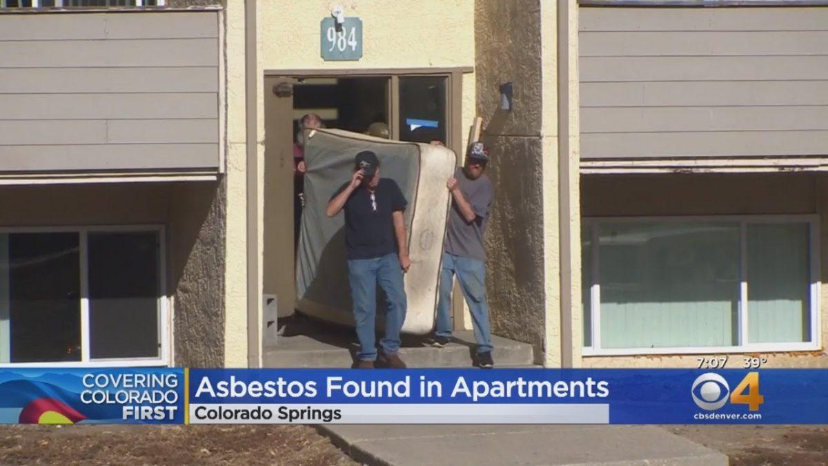 2 Colorado Springs Apartment Complex Contaminated With Asbestos